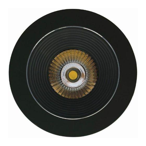 Luxalon LED spot HD 703 zwart