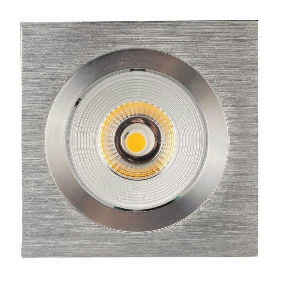 Luxalon LED spot HD 705 aluminium geborsteld