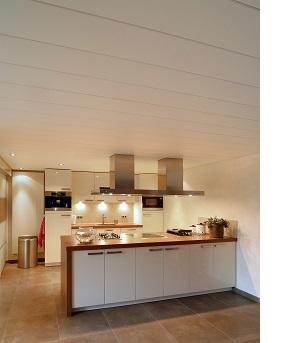Keuken plafond Luxalon 225C Gebroken Wit 0280